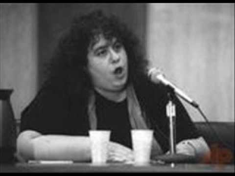 Andrea Dworkin's Testimony to the Attorney General On Pornography (1/4)