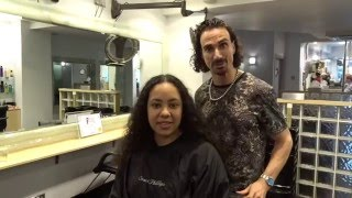 girl shaves her long hair for a children s cancer charity the little princess trust