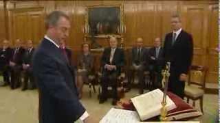 Juramento o promesa ante Su Majestad el Rey de los nuevos vocales del CGPJ