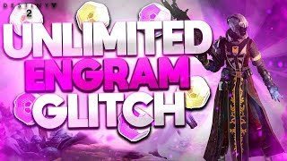 DESTINY 2 - NEW UNLIMITED ENGRAM GLITCH (SUPER EASY)