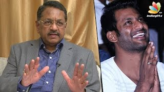 Justice S Rajeswaran explains how Vishal contests even after opposition : Producer Council Election