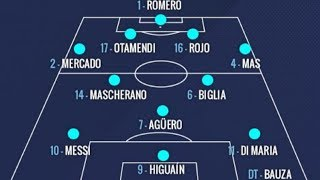 Argentina football team for FIFA World Cup 2018 Russia [ Full Squad] |