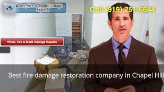 Best fire damage restoration company in Chapel Hill NC (919) 2…