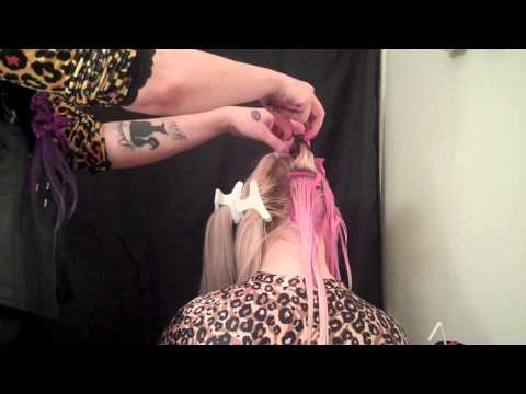 Pastel Pink to Silver Hair by Nikki Lipstick
