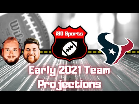Early 2021 NFL Projections- Houston Texans