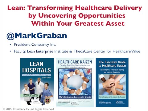 Lean: Transforming Healthcare Delivery by Uncovering Opportunities within Your Greatest Asset