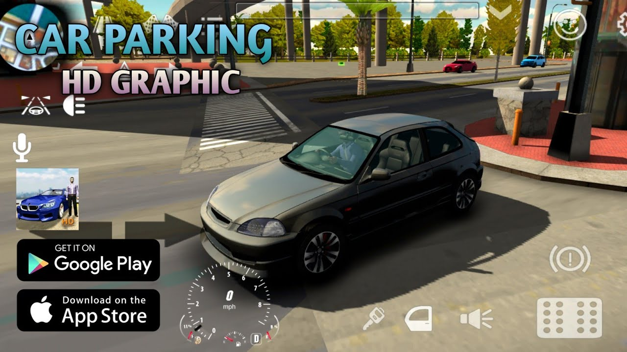 Download CAR PARKING HD GRAPHIC ANDROID GAMEPLAY