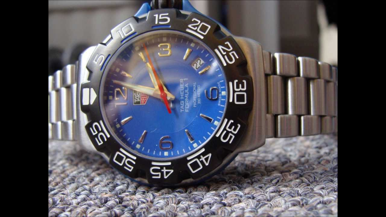 Tag Heuer Formula One 1 Blue And White