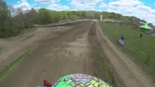 nick moser s full moto 2 footage pro am wildcat creek mx 2013