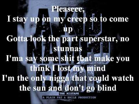 Kid Cudi TGIF(Feat. Chip The Ripper) lyrics
