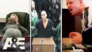 Court Cam: Top 5 Most Shocking Outbursts | A&E