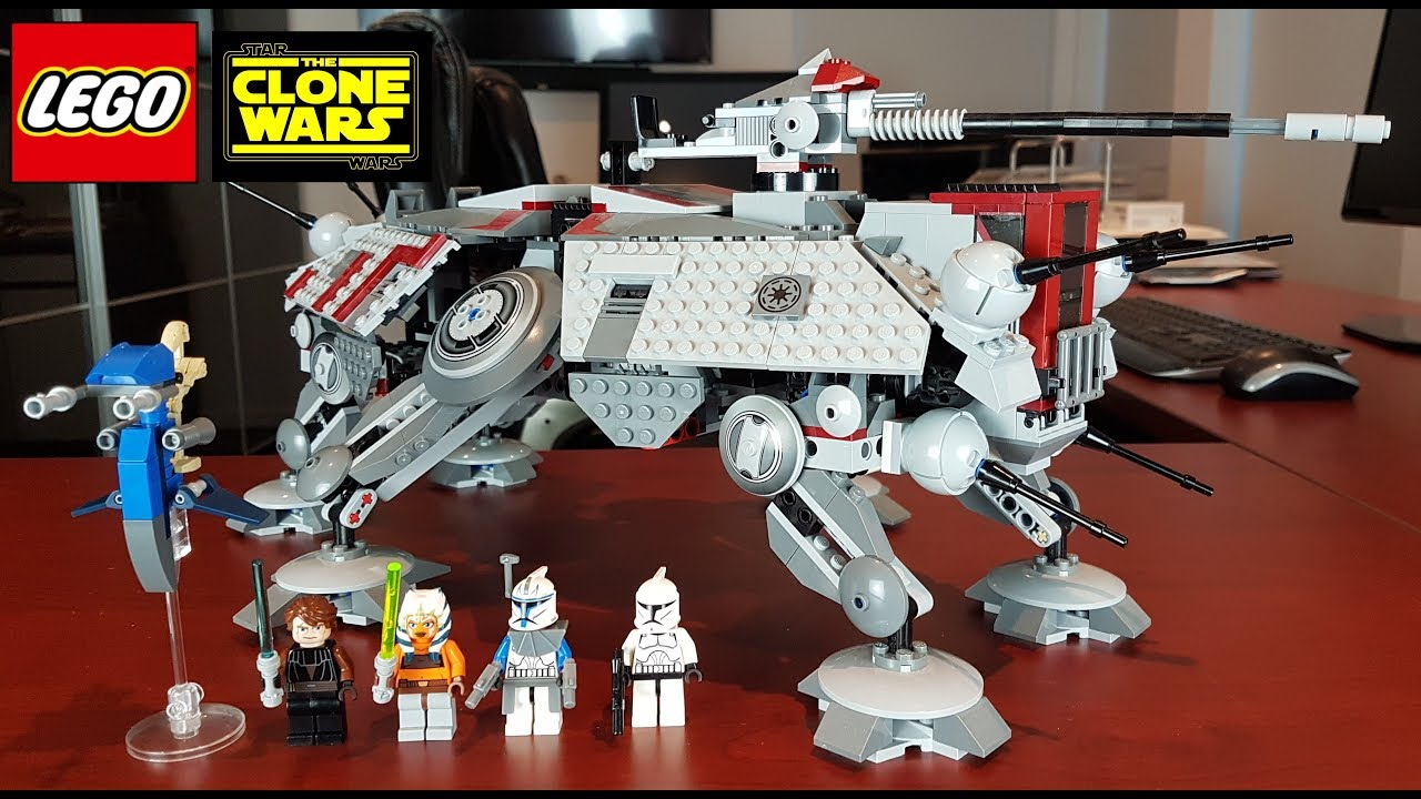 Star Wars LEGO 75019 AT-TE STICKER SHEET