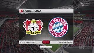FIFA 16 Bundesliga Prognose | Bayer Leverkusen -Bayern München