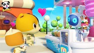 神奇的冰淇淋販賣機!小貓咪最愛吃的冰淇淋 | 兒歌 | 童謠 | 動畫 | 卡通 | 寶寶巴士 | 奇奇 | 妙妙