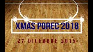POREC CHRISTMAS TOURNAMENT 2018: 2A GIORNATA ABANO MONTEGROTTO-BASKET 4 TRIESTE