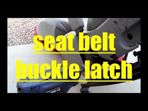 Replace Seat Belt Buckle Latch Toyota Camry √ Fix it Angel