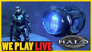 We Play... Halo: Combat Evolved - GUILT TRIPPING TO FIND SOME FLOOD #3