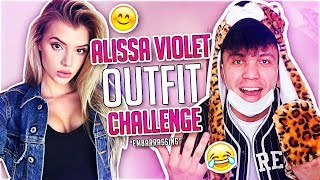 I Let Alissa Violet Pick My Outfit (We Wore it the ENTIRE DAY)
