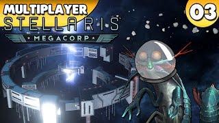 Stellaris 2.2 MegaCorp - Multiplayer 👑 #003 [Deutsch/German][Gameplay]