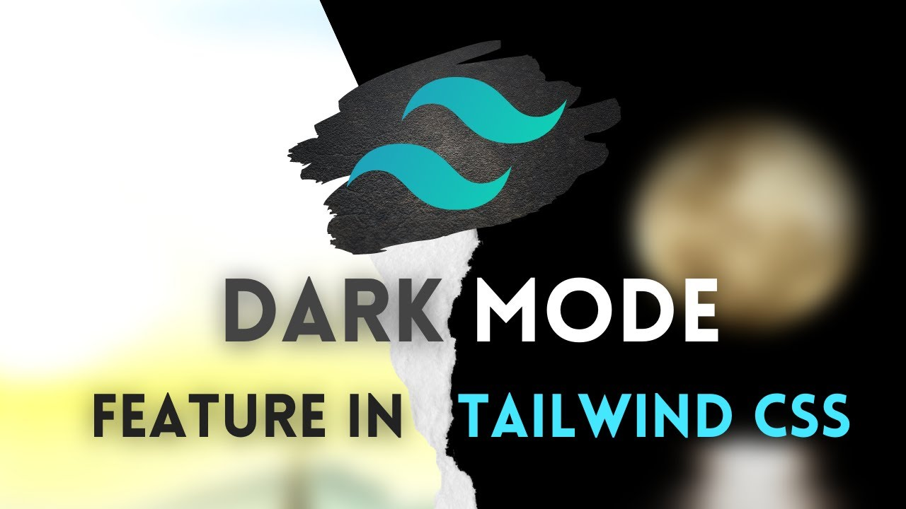 How to use the dark mode feature in Tailwind CSS