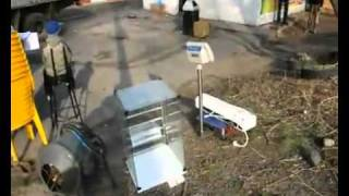 В Красноярске сносят павильон