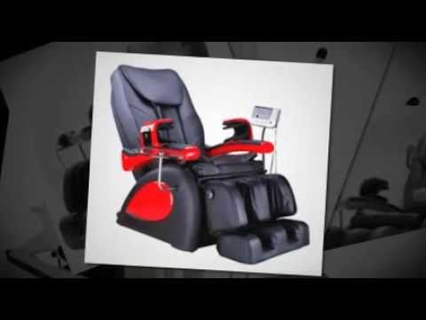 Deluxe Massage Chair At Relax At Home   YouTube