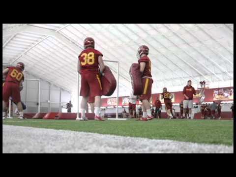 Iowa State Spring Football Practice