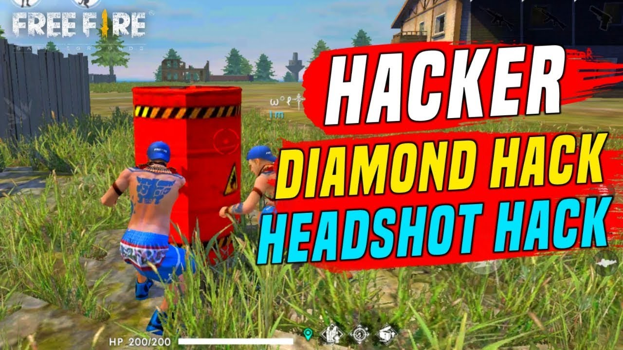 Free Fire Diamond Hacker & Auto Headshot Hacker Player - Garena Free Fire