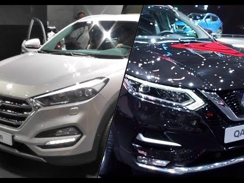 2017 Nissan Qashqai vs. 2017 Hyundai Tucson