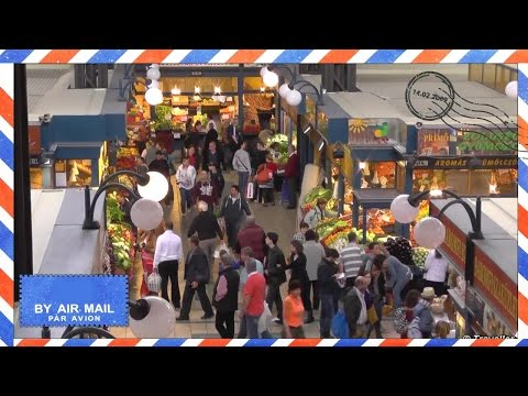 BUDAPEST GREAT MARKET HALL Or Central Market Hall (Nagycsarnok) - Budapest Attractions - Hungary