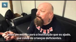 """Corintiano, ex-vocalista do Iron Maiden diz que """"não dá a mínima"""" para a banda inglesa"""
