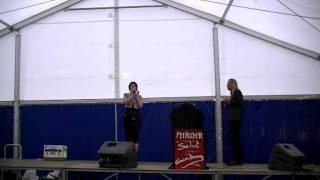Concert à Leernes Juillet 2011 Groupe Miroir, Sensuelle et sans suite