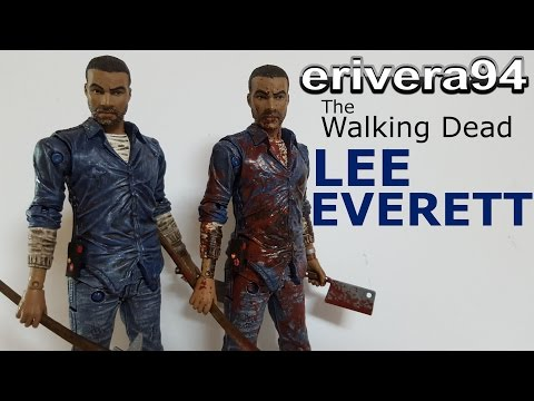 Telltale's The Walking Dead Lee Everett Figure Review Exclusive Bloody