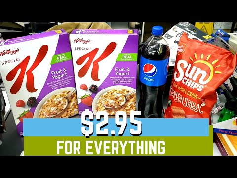 Hurry! Easy Food Deal | ALL DIGITAL COUPONS | 4 items only $2.95!