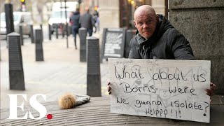 Covid-19 UK: homeless people still on streets despite government calls to house all during pandemic