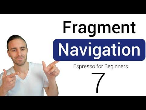 Fragment Navigation Testing (Espresso For Beginners PART 7)