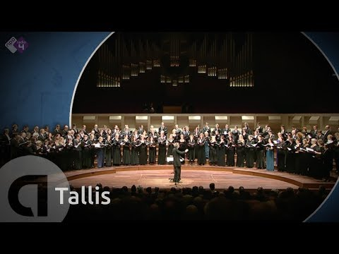 Tallis - Spem in alium (a 40) - Harry Christophers - Live Concert - HD