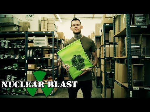 CARNIFEX - What's In My Bag? with Scott Ian Lewis (OFFICIAL INTERVIEW)