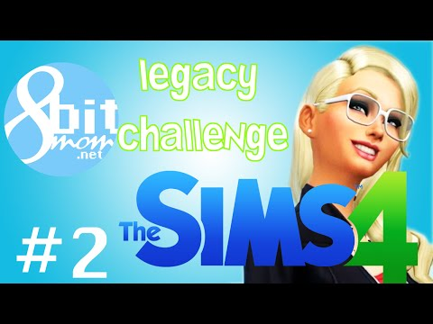 The Sims 4 Legacy Challenge #2 - Stinky like Bum