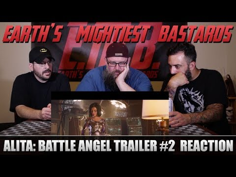 Trailer Reaction: Alita: Battle Angel Trailer #2