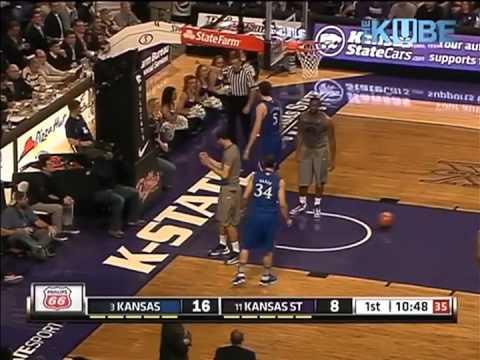 2013 K-State vs KU Basketball-1st Half