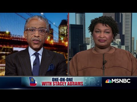 One On One With Stacey Abrams | PoliticsNation | MSNBC