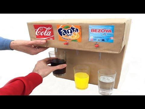 DIY more easy Coca-Cola Fountain Machine