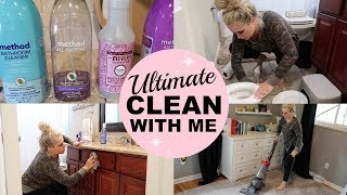 SAHM ULTIMATE CLEAN WITH ME | EXTREME CLEANING MOTIVATION
