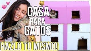 CASITA PARA GATOS | DIY
