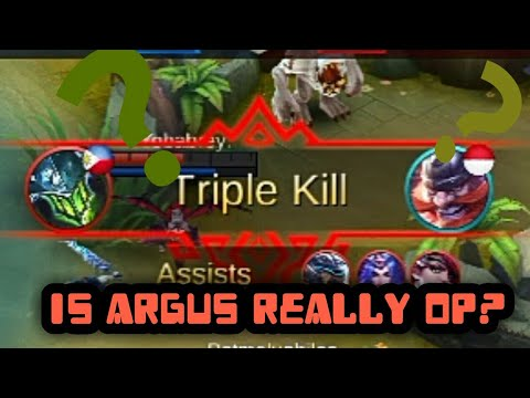Am I op at Argus? | Mobile Legends