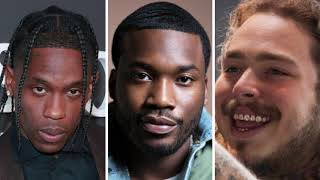 Fans are upset Post Malone won AMA over Travis Scott and Meek Mill