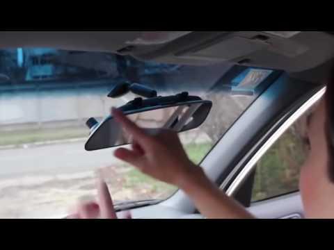 Зеркало заднего вида с монитором купить, зеркало заднего