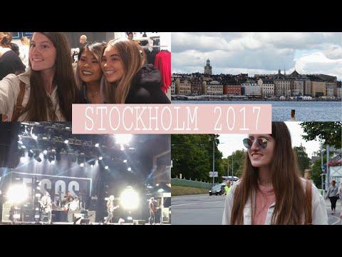 VLOG: ταξίδι στην Στοκχόλμη, συναυλία 5sos, TheLineUp