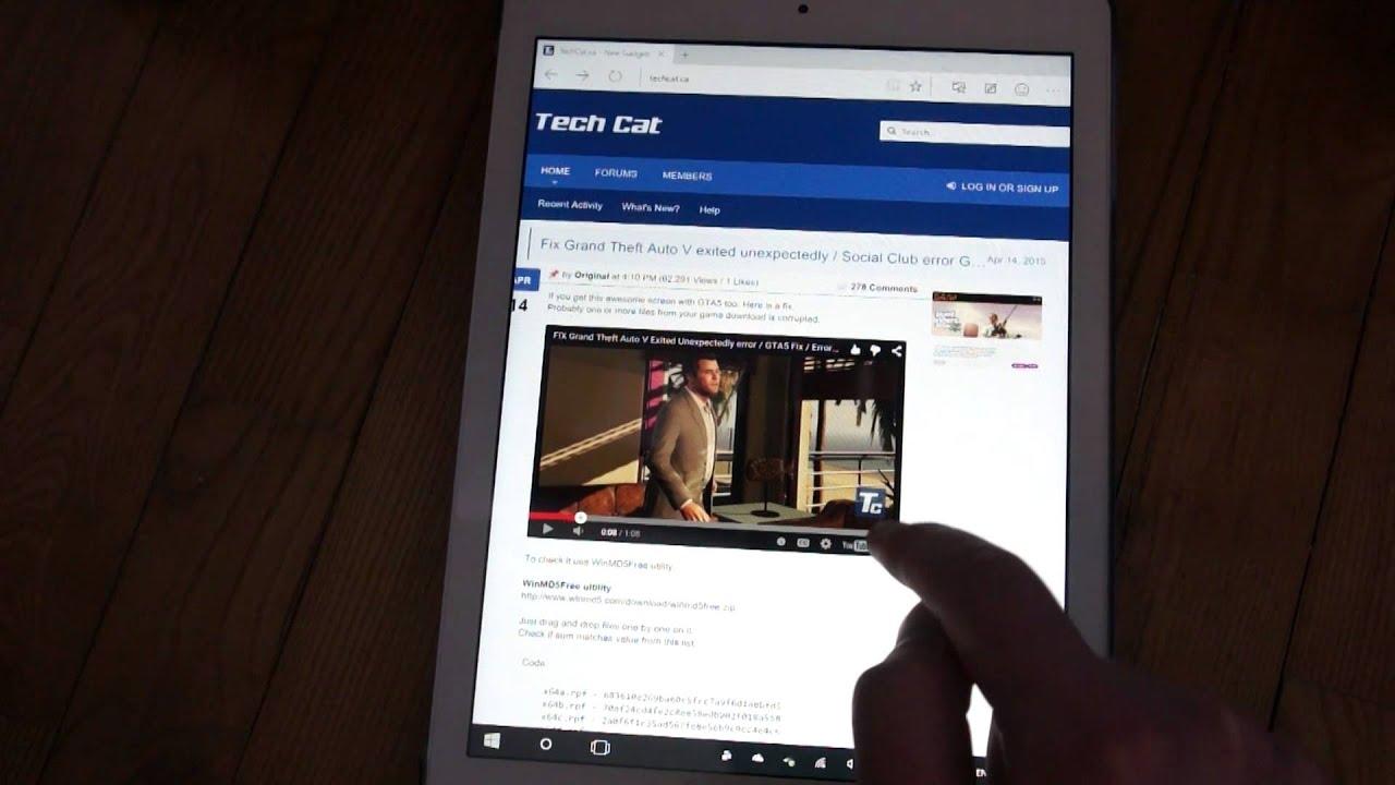 I Hate Windows 10 For Tablets Onda V975W